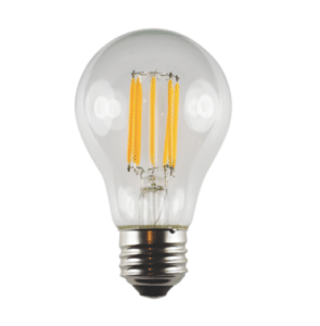 brilliance led a19 edge filament lamps lighting