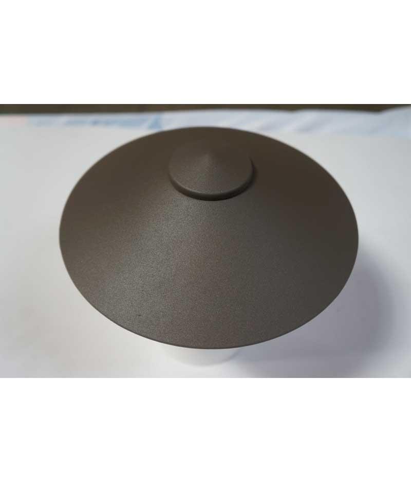 Universal Lighting Systems Shade Post Aluminum Architectural Bronze Us1403az Black Us1403bk
