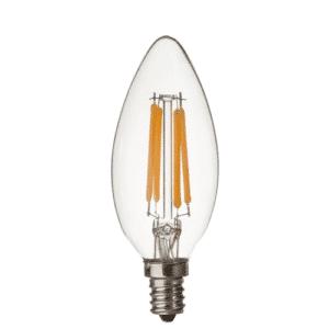CE12 120V 6 WATT TORPEDO TIP LED