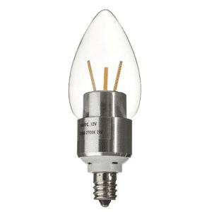 12V B11 TORPEDO TIP LED