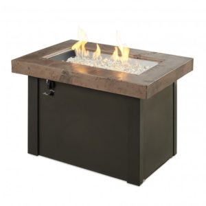 brown providence gas fire pit