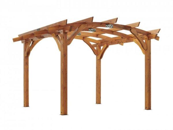 12x12 redwood sonoma pergola