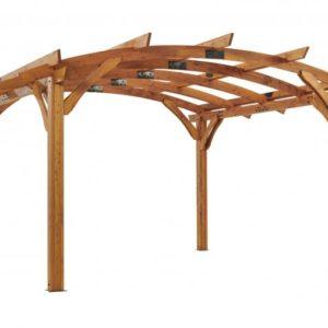 16x16 redwood sonoma pergola