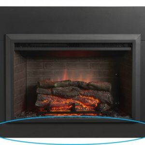 electric fireplace surround insert