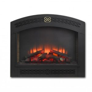 full arch front for electric fireplace