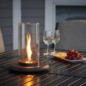 intrigue outdoor tabletop lantern
