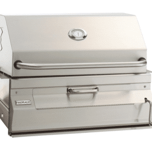 BUILT-IN CHARCOAL GRILL
