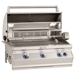 BUILT-IN GRILL WITH ANALOG THERMOMETER