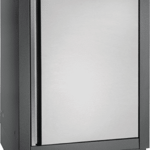 universal cabinet with reversible door